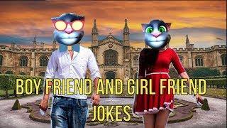 BOY FRIEND GIRL FRIEND JOKES I PREMI PREMIKA JOKES I FUNNY HINDI JOKES I TALKING TOM I FUNNY VIDEO