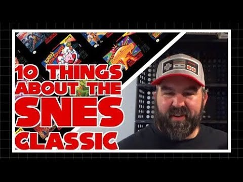 10 Things To Know about the SNES Classic