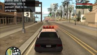 Car Chase in San Andreas - Benny Hill Themed