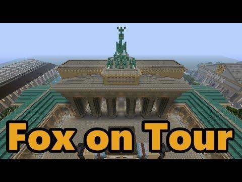 FOX ON TOUR - Brandenburger Tor - MINECRAFT PS4