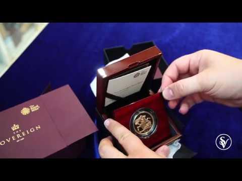 2018 5 pound gold sovereign BU 65th Anniversary