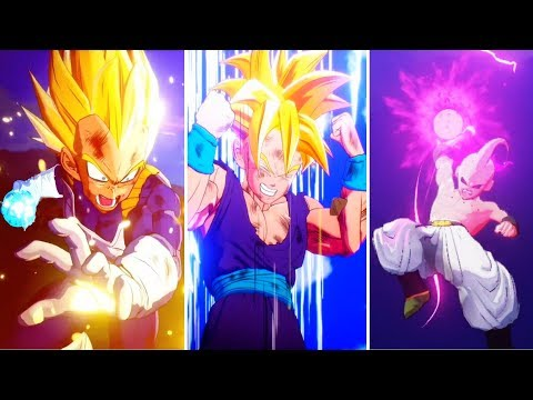 Dragon Ball Z: Kakarot - All Super Attacks Cutscenes (Goku,Vegeta,Trunks,Vegito,Gohan,) (DBZK 2020)