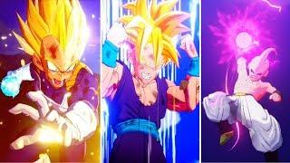 Dragon Ball Z: Kakarotto: Todas las escenas de Super Attacks (Todos los personajes) (DBZK 2020)