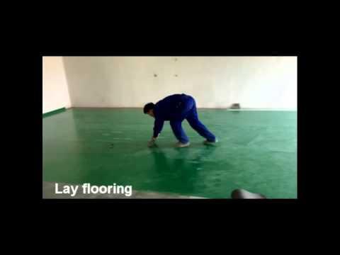 glass fiber epoxy flooring