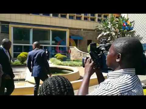 Babu Owino, Jaguar fight in Parliament