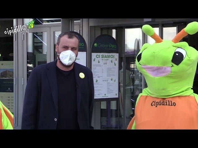 Il Cipidillo incontra Green Pea