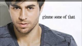 enrique iglesias turn the night up lyrics