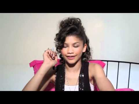 Shake it Up's ZENDAYA is All Beat Up from her Tomboy Days!