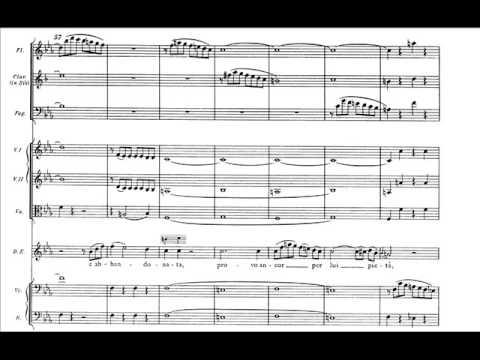 "Mozart - Don Giovanni - Rec. e Aria D. Elvira: ""Mi tradì quell'alma ingrata"" (score)"