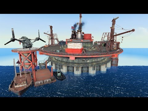 Brotherhood of Steel Offshore Base - Custom FO4 Settlement Build