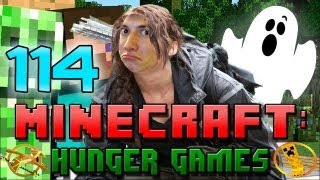 Minecraft: Hunger Games w/Mitch! Game 114 - Spooky BoobAxe!