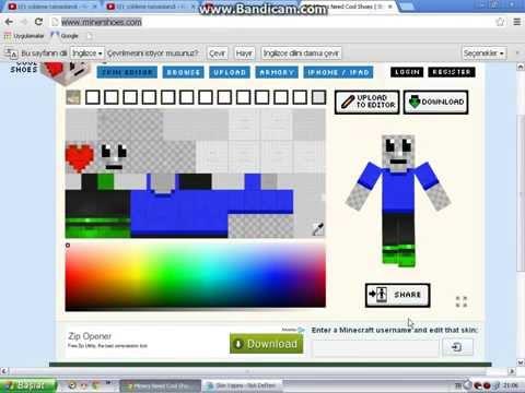 Minecraft Skin Yapımı