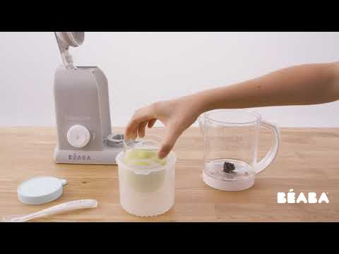 Babycook® Solo white-silver video