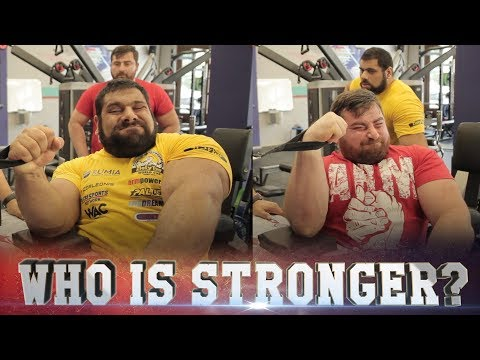 Gym CHALLENGE: who is stronger, Levan or Genadi?