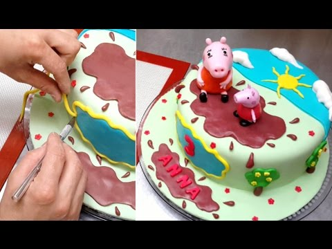 How Tomake Peppa Pig Cake Topper