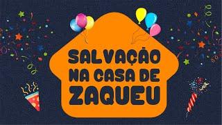 SALVAÇÃO NA CASA DE ZAQUEU - SÉRIE INFANTOJUVENIL - EPISÓDIO 6