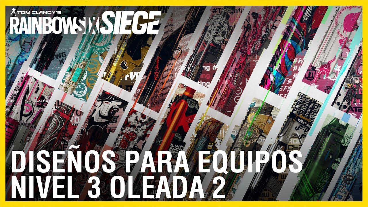 Rainbow Six Siege - R6 SHARE Equipos del Nivel 3 | Ubisoft LATAM