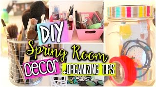 Diy Room Organization & Decor +quick & Easy Storage Tips
