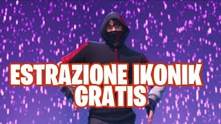 IKONIK FREE ! TODAY EXTRACTION ! Live fortnite