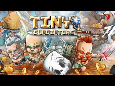 Tiny Gladiators - Гладиаторские бои (обзор-летсплей на Android)
