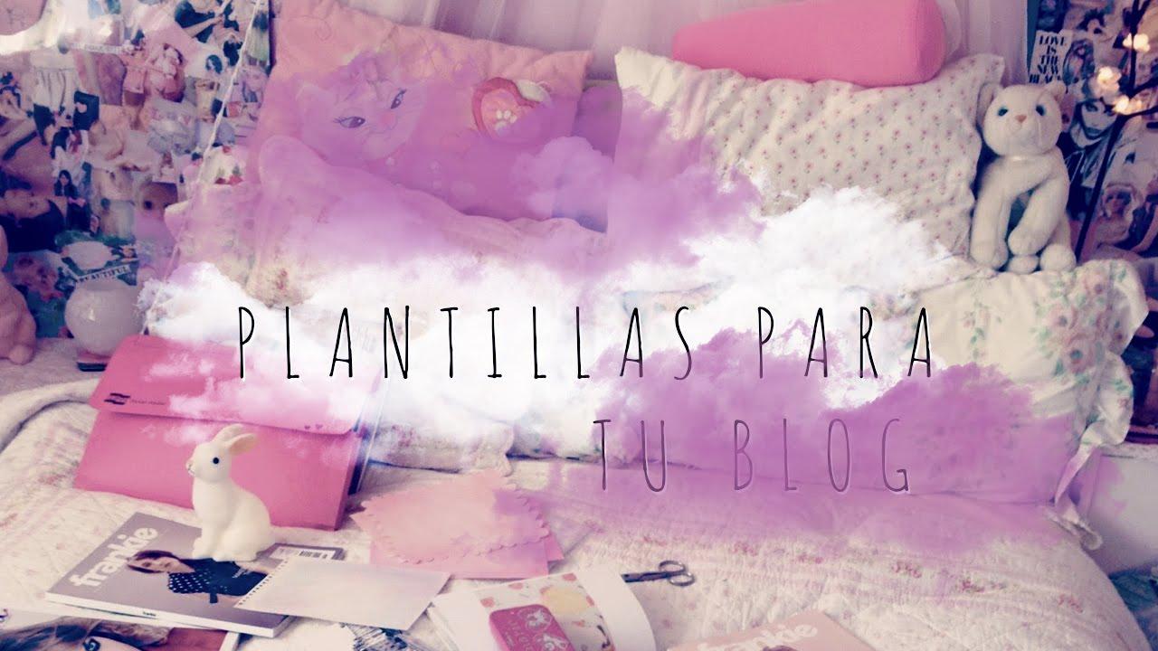 Bonito Plantillas Kawaii Blogger Componente - Colección De ...