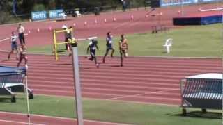 u20 Men 4x100 Metre Relay @ Australian Junior National Championships - 12/03/2013
