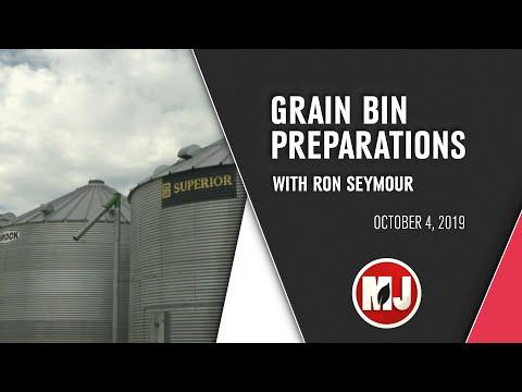 Grain Bin Preparations | Ron Seymour | October 04, 2019