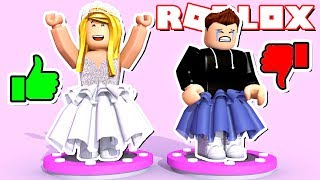 1€ OUTFIT VS. 100.000€ OUTFIT ✿ Roblox FASHION FAMOUS [Deutsch/HD]