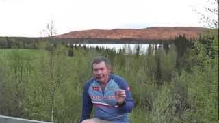 Константин Кузьмин. Рыбалка в Швеции, озеро Сторуман. В гостях у Райво