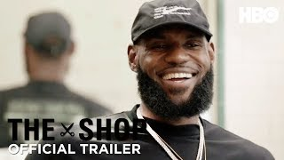 'LeBron James on Being African-American in America' Official Trailer   The Shop   HBO