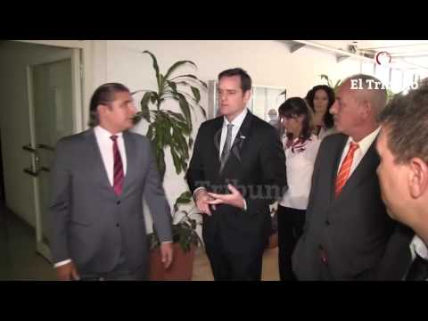 El embajador de Estados Unidos en Argentina visita Diario El Tribuno