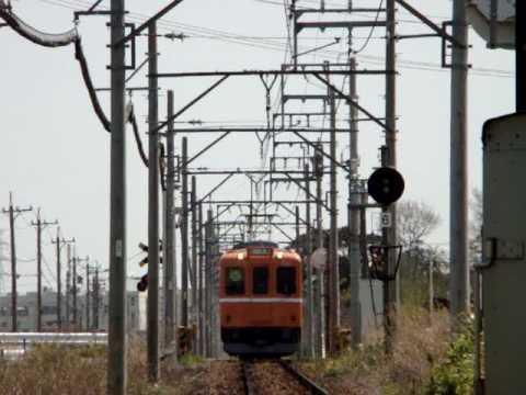 養老鉄道600系(ラビットカー塗装)Yoro railway series 600 (rabbit car painting)