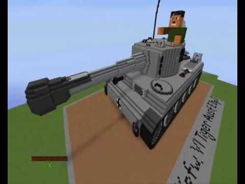 видео: Стреляющий танк в Minecraft! (Beta 1.3.1)