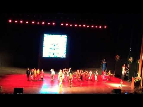 Indian traditional culture dance by Delhi Public School Nerul Navi Mumbai