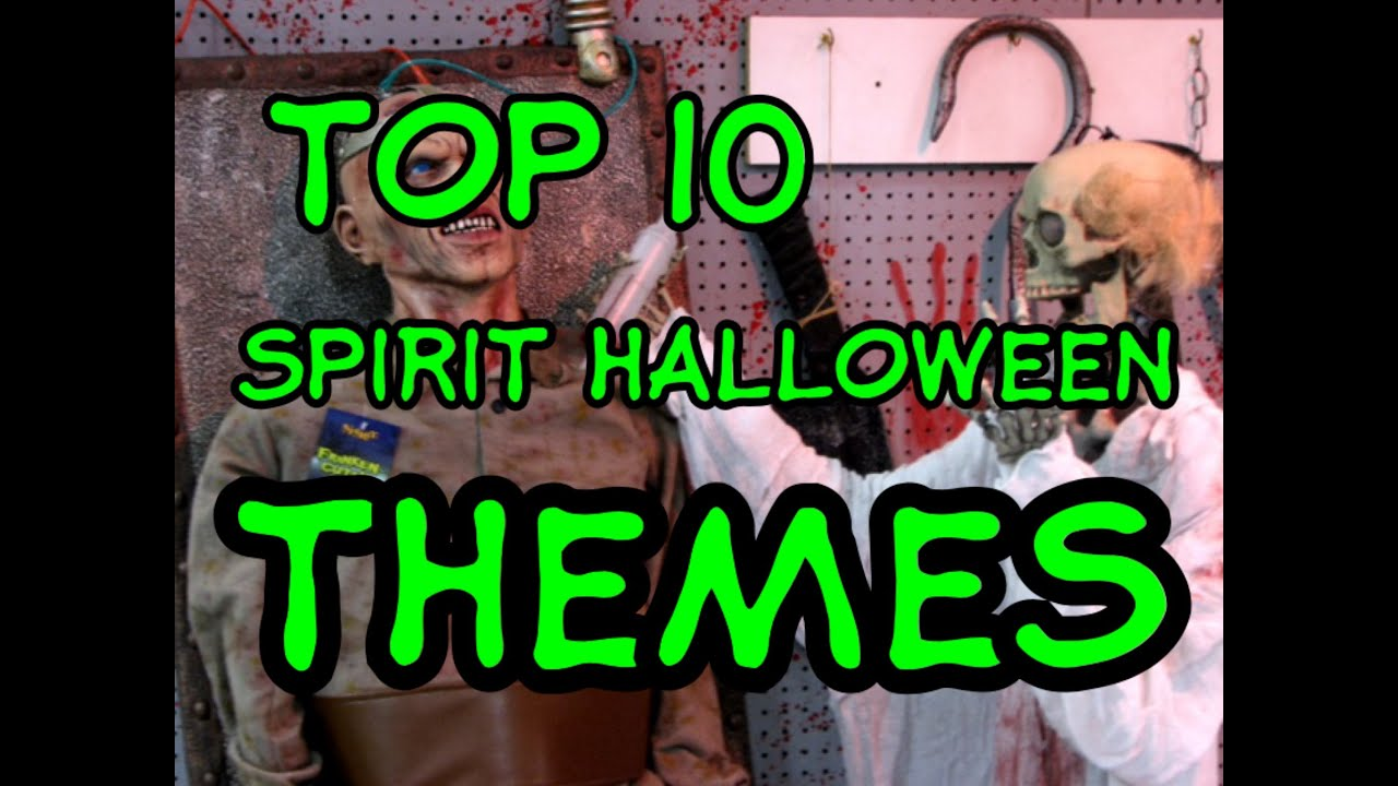 top 10 spirit halloween themes youtube - 2017 Halloween Themes
