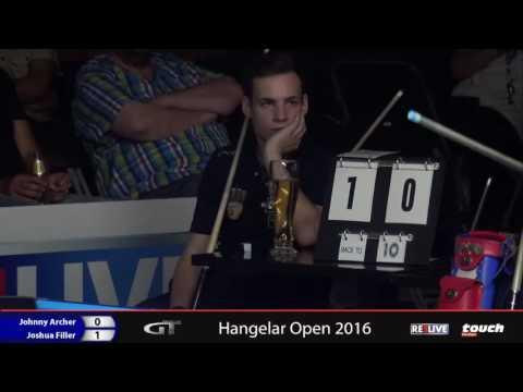 Hangelar Open Finale   Archer vs  Filler  powered by REELIVE & Touch German Tour