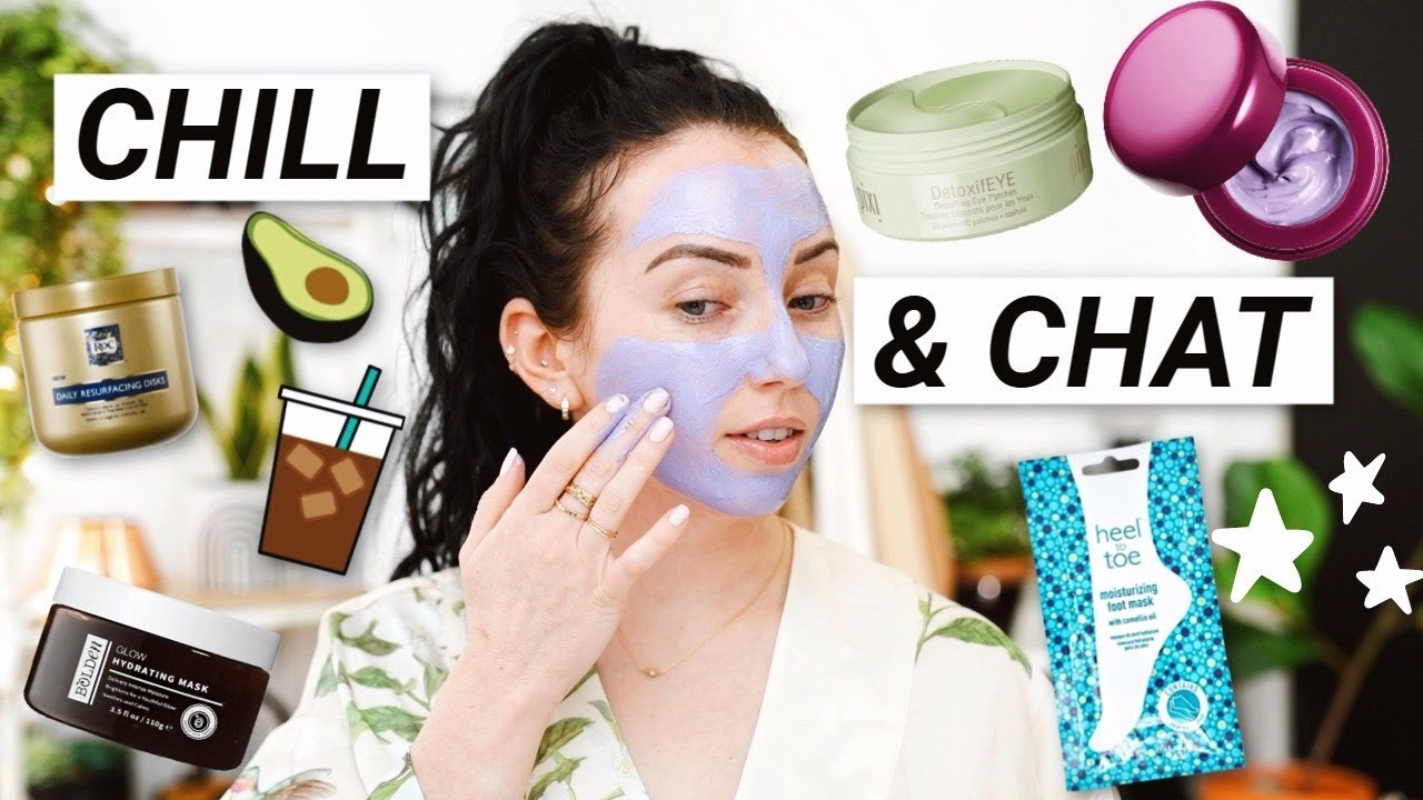 Shadow & Schmooze Skincare Edition! Relax, Chill & Chat..Face & Foot Masks, Skincare I''m Trying