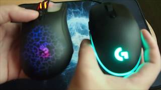 logitech g102 vs Bloody A9