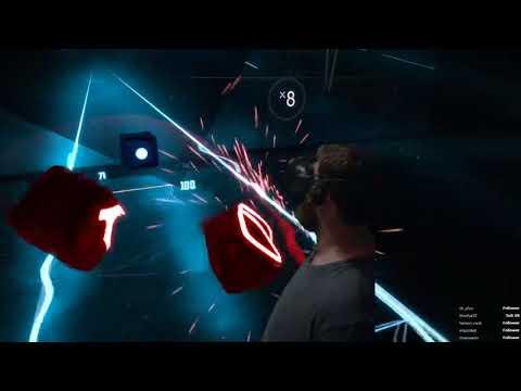 Beat Saber - 'Darth Maul' mode - LVL INSANE - EXPERT Passed! || Mixed Reality powered by 'LIV'