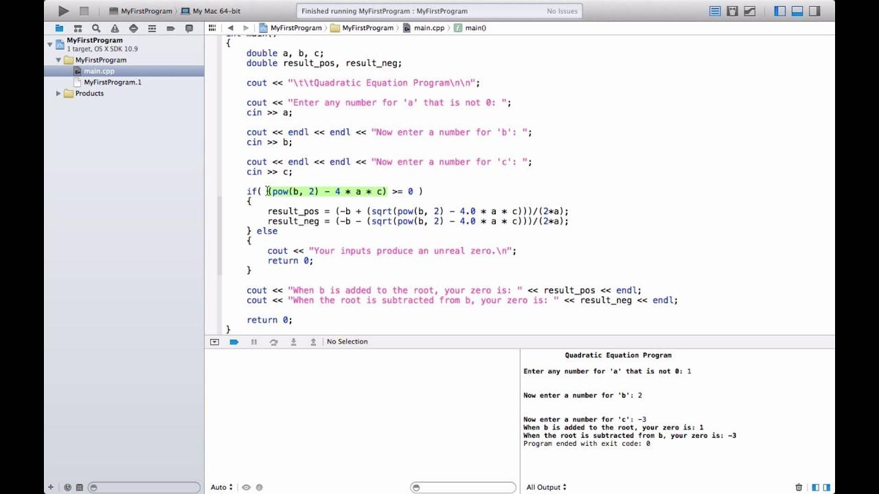 C For Mac Programming