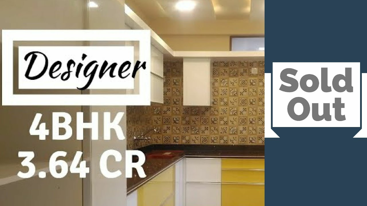 Luxury 4bhk Designer New Apartment Tour Home For Sale At Indiranagar Bangalore Youtube