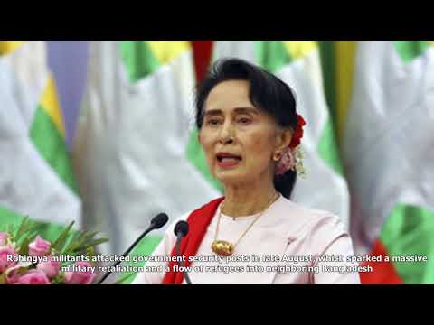 Myanmar's suu kyi to skip un general assembly amid outrage over rohingya crisis