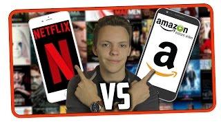 Netflix oder Amazon Prime   Streaming Dienst Vergleich   NETFLIX VS AMAZON PRIME INSTANT VIDEO