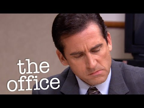 Michael Tries To Steal A Sales Person  - The Office US
