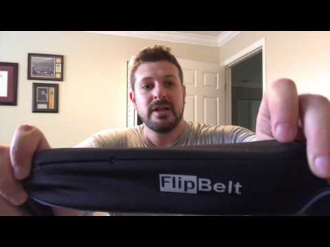 FlipBelt exercise cell phone holder and more product review