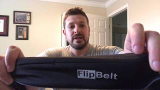 FlipBelt - exercise cell phone holder and more product review