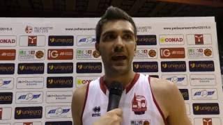 Playoff Basket serie B Gara 2 Pederzini