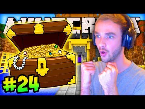 "MINECRAFT (How To Minecraft) - w/ Ali-A #24 - ""TREASURE FISHING!"""
