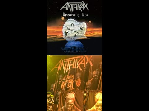 """Anthrax deluxe edition of 30th Anniv. of album """"Persistence Of Time"""" + DVD..!"""