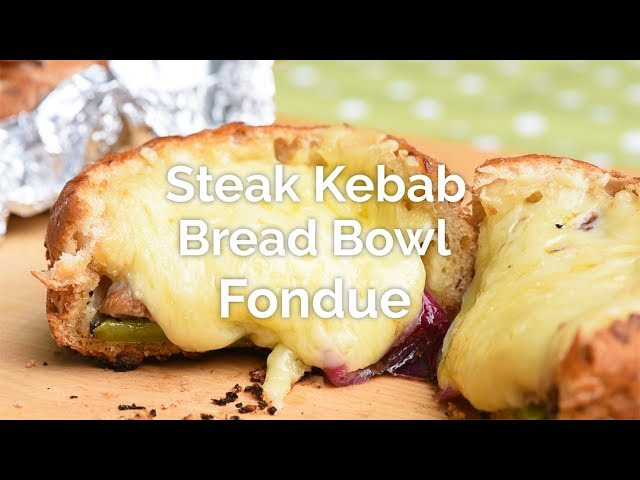 Cheese & Kebab Fondue